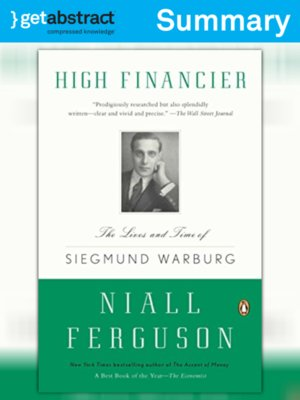 cover image of High Financier (Summary)