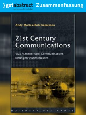 cover image of 21st Century Communications (Zusammenfassung)