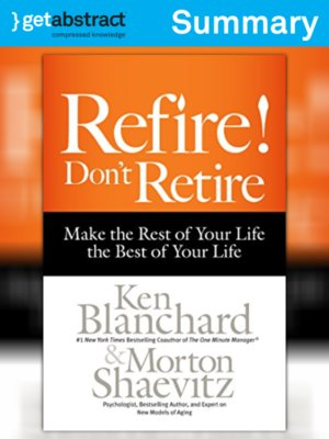 cover image of Refire! Don't Retire (Summary)