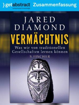 cover image of Vermächtnis (Zusammenfassung)