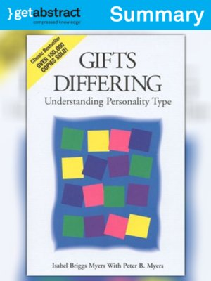 cover image of Gifts Differing (Summary)