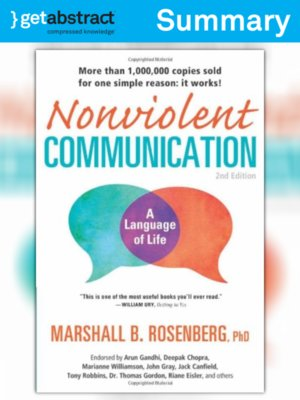 cover image of Nonviolent Communication (Summary)