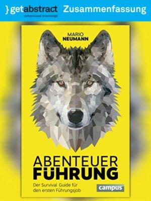 cover image of Abenteuer Führung (Zusammenfassung)