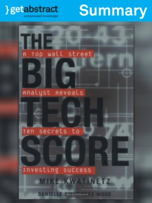 cover image of The Big Tech Score (Summary)
