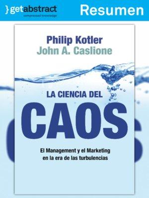 cover image of La ciencia del caos (resumen)