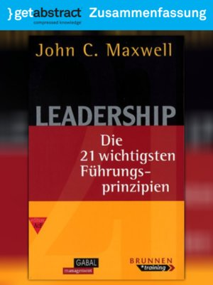 cover image of Leadership (Zusammenfassung)