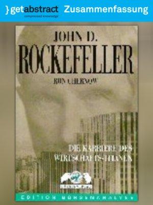 cover image of John D. Rockefeller (Zusammenfassung)