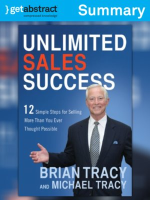 cover image of Unlimited Sales Success (Summary)