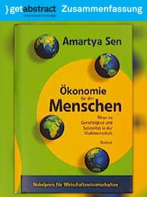 cover image of Ökonomie für den Menschen (Zusammenfassung)