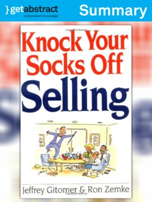cover image of Knock Your Socks Off Selling (Summary)