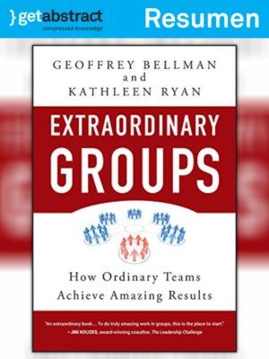 cover image of Grupos extraordinarios (resumen)