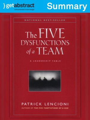 cover image of The Five Dysfunctions of a Team (Summary)