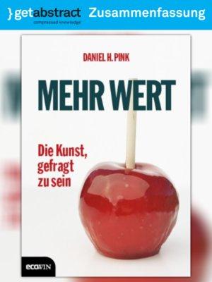 cover image of Mehr Wert (Zusammenfassung)