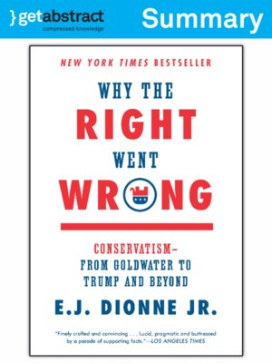 cover image of Why the Right Went Wrong (Summary)