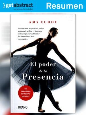 cover image of El poder de la presencia (resumen)