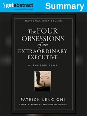 cover image of The Four Obsessions of an Extraordinary Executive (Summary)