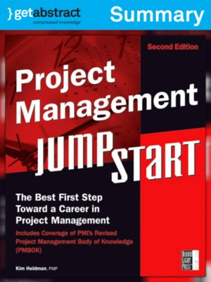 cover image of Project Management JumpStart (Summary)