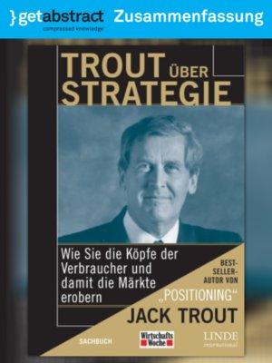 cover image of Trout über Strategie (Zusammenfassung)