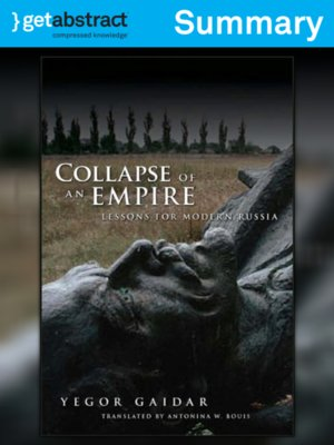 cover image of Collapse of an Empire (Summary)