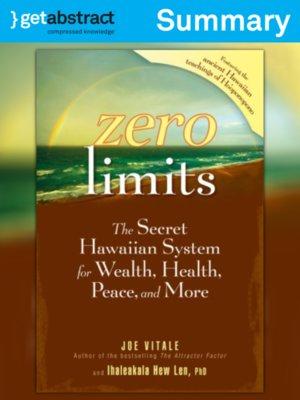 cover image of Zero Limits (Summary)