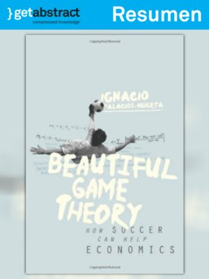 cover image of La teoría del juego hermoso (resumen)