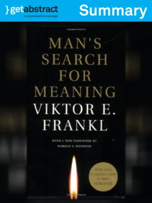 cover image of Man's Search for Meaning (Summary)