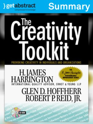 cover image of The Creativity Toolkit (Summary)