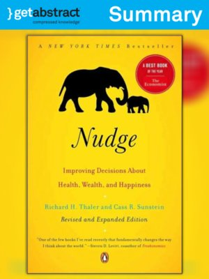 cover image of Nudge (Summary)