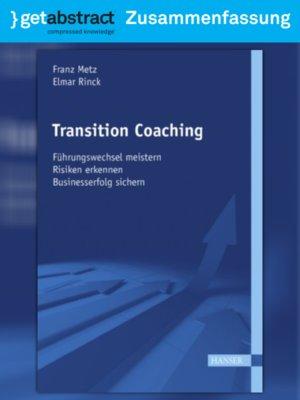cover image of Transition Coaching (Zusammenfassung)