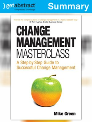 cover image of Change Management Masterclass (Summary)