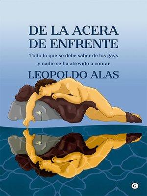 cover image of De la acera de enfrente