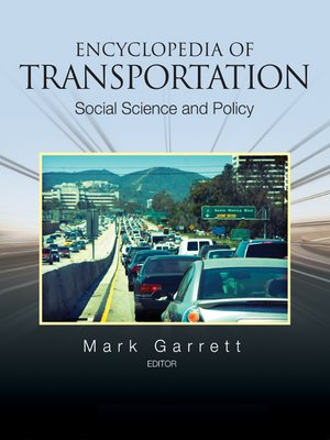 cover image of Encyclopedia of Transportation