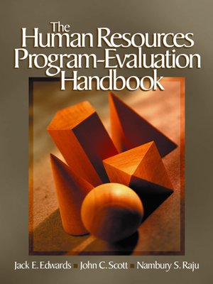 cover image of The Human Resources Program-Evaluation Handbook
