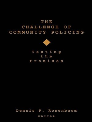 cover image of The Challenge of Community Policing