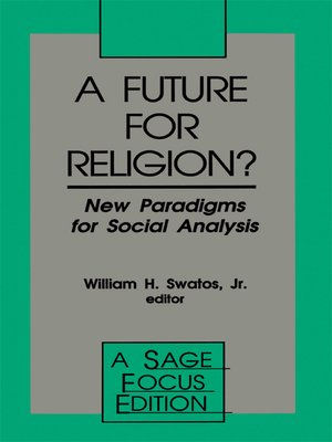 cover image of A Future for Religion?