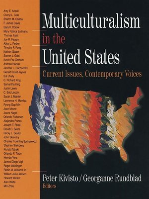 cover image of Multiculturalism in the United States