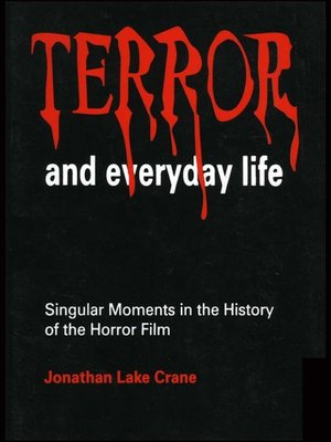 cover image of Terror and Everyday Life