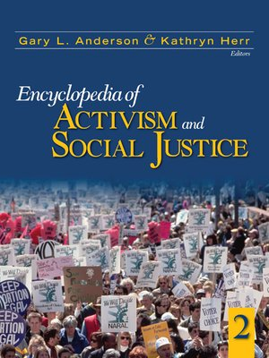 cover image of Encyclopedia of Activism and Social Justice