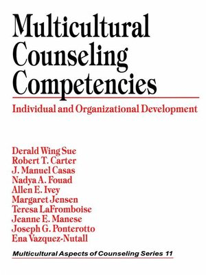 cover image of Multicultural Counseling Competencies