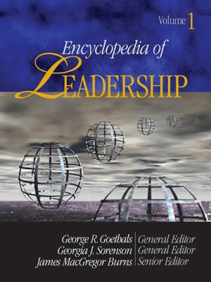 cover image of Encyclopedia of Leadership