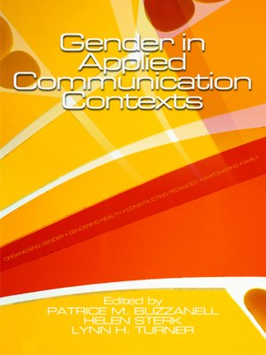 cover image of Gender in Applied Communication Contexts