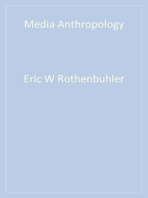 cover image of Media Anthropology