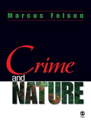 cover image of Crime and Nature