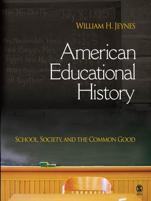 cover image of American Educational History