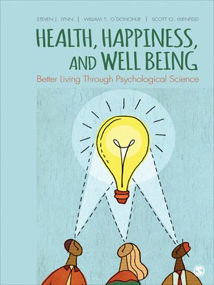 cover image of Health, Happiness, and Well-Being