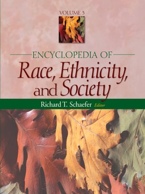 cover image of Encyclopedia of Race, Ethnicity, and Society