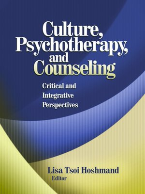 cover image of Culture, Psychotherapy, and Counseling