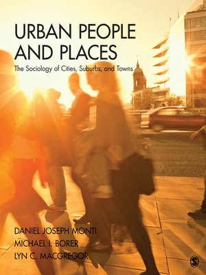 cover image of Urban People and Places