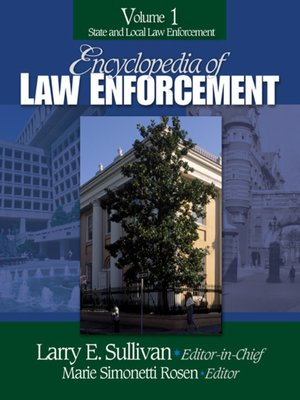 cover image of Encyclopedia of Law Enforcement