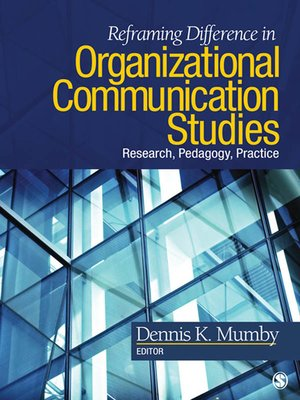 cover image of Reframing Difference in Organizational Communication Studies